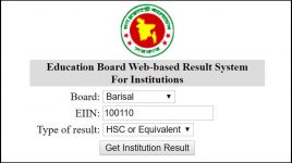 web based result system
